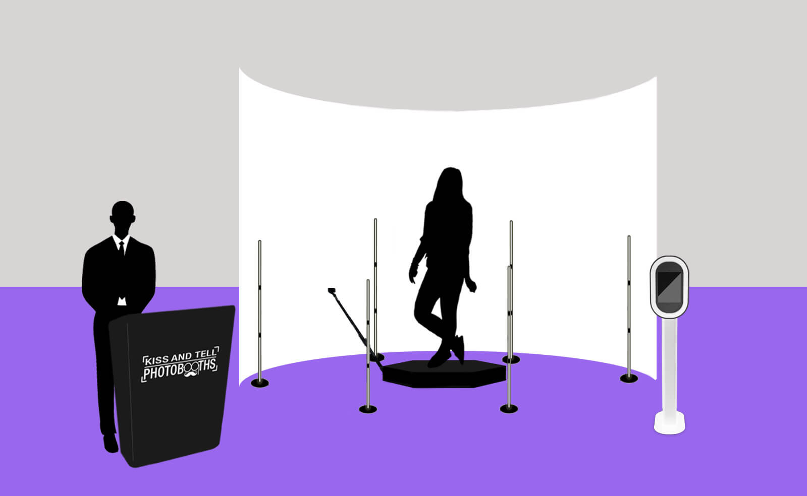 360 booth with Half-Enclosure.psd